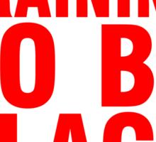 Training to be Black Widow - Natasha Romanoff Sticker