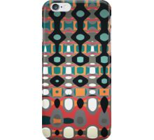 Temperature Gauge Colourful Abstract Design by Jenny Meehan iPhone Case/Skin