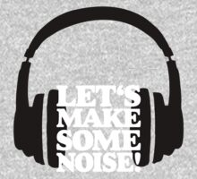 Let's make some noise - DJ headphones (black/white) Kids Clothes