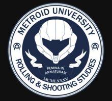 Metroid University - Suit up! Kids Clothes