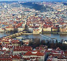 Prague Panorama by davidandmandy