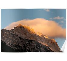 Sorapiss at sunset Poster