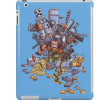 "Rocket Raccoon on the ""Iron Throne""! iPad Case/Skin"