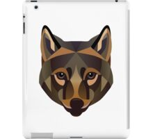 Brown Wolf iPad Case/Skin
