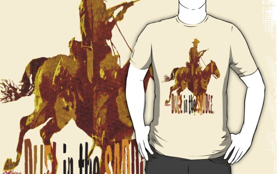 Duel in the Saddle T by Seth  Weaver