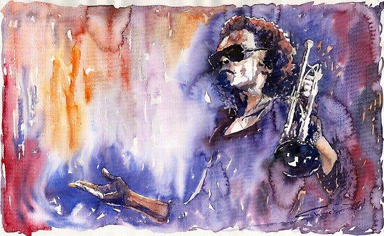 Jazz Miles Davis 14 by Yuriy Shevchuk