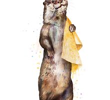Otter by lauragraves