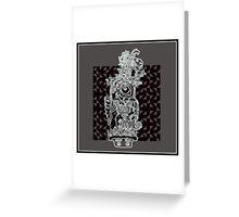hieroglyphic 3 Greeting Card