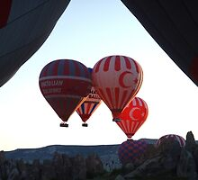 Hot Air Ballooning by Malcolm Snook