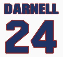 National football player Darnell Autry jersey 24 by imsport