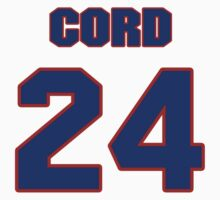 National football player Cord Parks jersey 24 by imsport