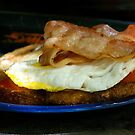 Bacon and Egg Sandwich by lexphoto