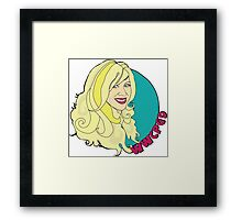 What Would Colleen Patrick-Goudreau Do? Framed Print
