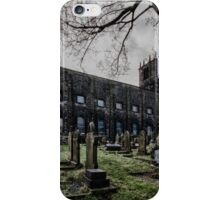 St Peters spooky Sowerby West Yorkshire England iPhone Case/Skin