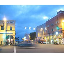 Nights in Venice Beach Photographic Print