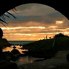 Tunnelled Sunset by Dean Mullin