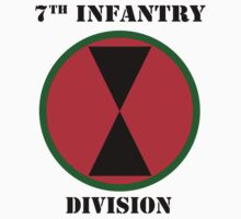 7th Infantry Division W/Text by VeteranGraphics