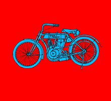 HD 1907 Classic Motorcycle by drawspots
