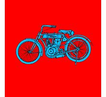 HD 1907 Classic Motorcycle Photographic Print
