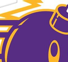 The Hundreds Purple Sticker