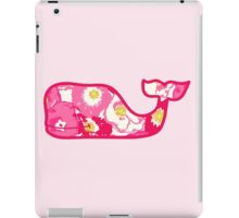 Lilly Pulitzer Whale Cherry Begonias iPad Case/Skin