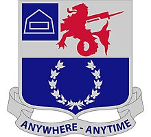 57th Infantry Regiment - Anywhere - Anytime Photographic Print