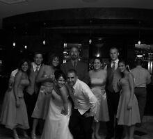 The Bridal Party & Frank the Limo Driver by Taryn Raburn
