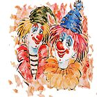 Be a Clown by Catherine Hamilton-Veal  ©
