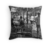 Lidras Street Throw Pillow