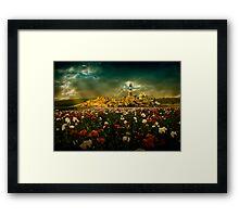 Imaginary landscapes 1 Framed Print
