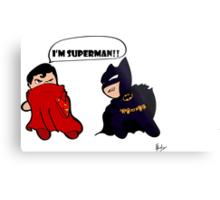 Batman Vs Superman  Metal Print