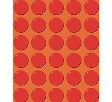 Cherry Truce Pattern Photographic Print