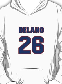 National football player Delano Howell jersey 26 T-Shirt