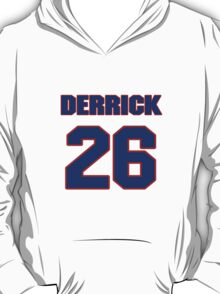National football player Derrick Martin jersey 26 T-Shirt