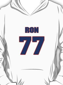 National football player Ron East jersey 77 T-Shirt