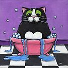 Fat Cat Takes A Bath by Lisa Marie Robinson