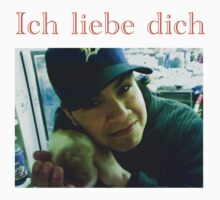 Andres Hamster German ich liebe dich by Moe828