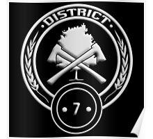 District 7 - Lumber Poster