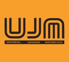 Black UJM Universal Japanese Motorcycle by cyclelust