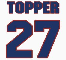 National football player Topper Clemons jersey 27 by imsport