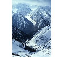 MOUNTAIN PASS, AFGHANISTAN Photographic Print