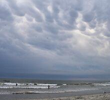 Storm? What storm? by Allen Lucas