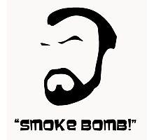 Smoke Bomb  Photographic Print