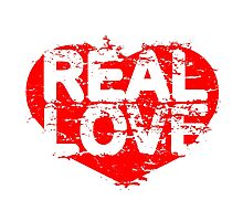 REAL LOVE Photographic Print