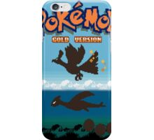Pokemon Gold and Silver iPhone Case/Skin