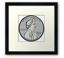 """Mark makes cents"" by Tai's Tees Framed Print"