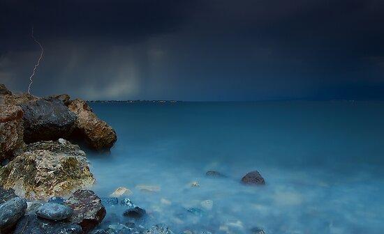 The storm by Kostas Petrakis