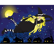 Blond Witch Photographic Print