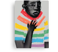 rainbow suit Canvas Print