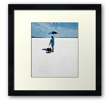 Michael has lost his marbles Framed Print